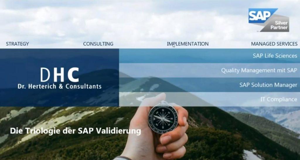Zukunft der SAP Validierung   Dr. Rudi Herterich DHC GmbH