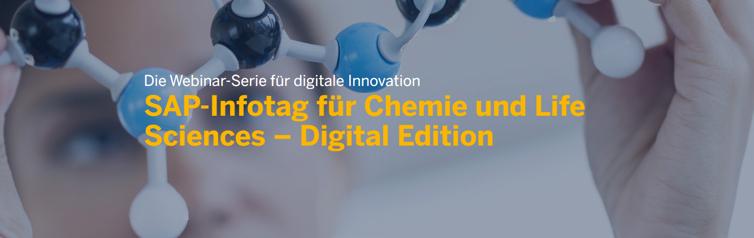 SAP Infotag für Chemie- und Life-Sciences